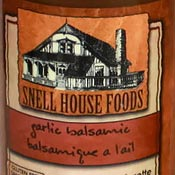 Garlic Balsamic Label