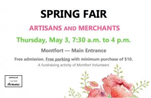 Montfort Spring Fair @ Montfort Hospital Auditorium | Ottawa | Ontario | Canada